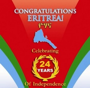 Eritrea deserves to celebrate.  Celebrate also the cause of self-determination and the right of a people and nation to chart their own course.